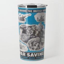 Reprint of British wartime poster. Travel Mug