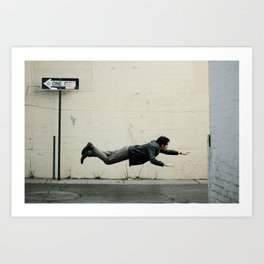 Sometimes, it's good to be different. Art Print