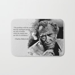 BUKOWSKI - people quote Bath Mat