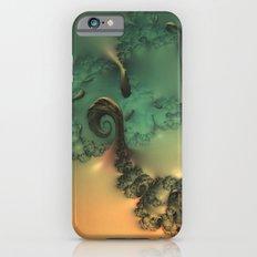 Waxy Spirals iPhone 6s Slim Case