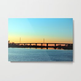 Thomas Rhodes Bridge Metal Print