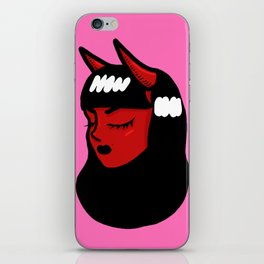 """Hell Girl"" iPhone Skin"