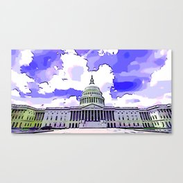 US Capitol Canvas Print