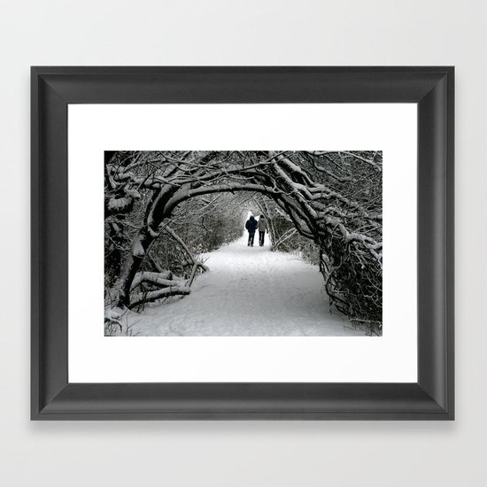 Witch in the Wood Framed Art Print