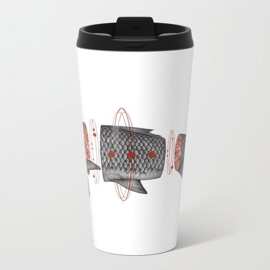 Sashimi I Metal Travel Mug