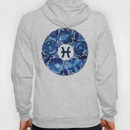 Pisces in Petrykivka style (without artist's signature/date) Hoody