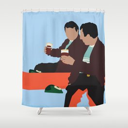 Kidnapping Caucassian Style Shower Curtain