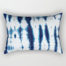 Linen Shibori Shirting Rectangular Pillow