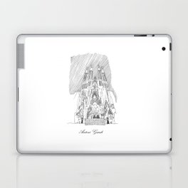 Antoni Gaudi Laptop & iPad Skin