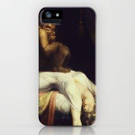 Henry Fuseli - The Nightmare iPhone Case