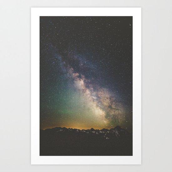 Milky Way IV Art Print