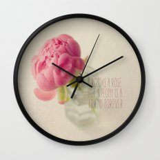 Friend Forever  Wall Clock