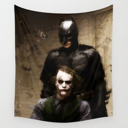 The Interrogation Wall Tapestry