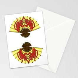 Fighting Tigers Stationery Cards