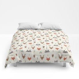 Minimalist Forest Animals Comforters