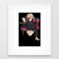 dmmd Framed Art Prints featuring Dive into DMMd: Noiz by Collette Ren