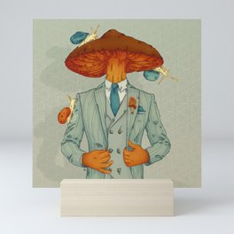 FALL IS BACK Mini Art Print