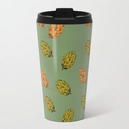 Autumn seed pattern Travel Mug