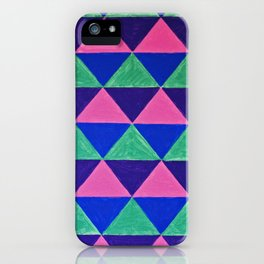 Triangles iPhone Case