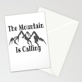 Climbing Quote Stationery Cards