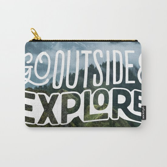 Go outside & explore Carry-All Pouch