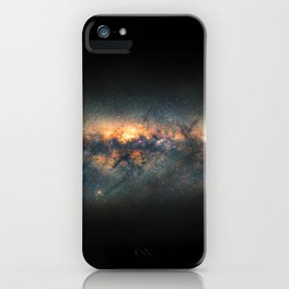 Milky Way Panoramic iPhone Case