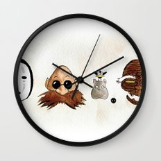 Make the Unlikeliest of Friends, Wherever You Go 2 Wall Clock