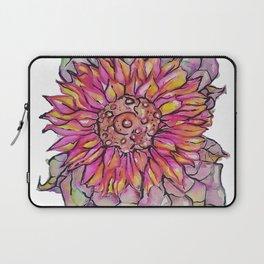 Sunflower Watercolor Laptop Sleeve