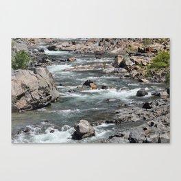 The Yuba River 4 Canvas Print