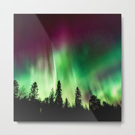 Northern Lights (Aurora Borealis) 10. Metal Print