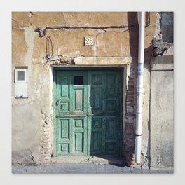 Doors of Perception 19 Canvas Print