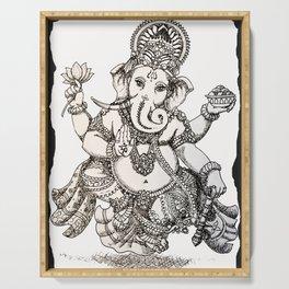 Ganesha Serving Tray