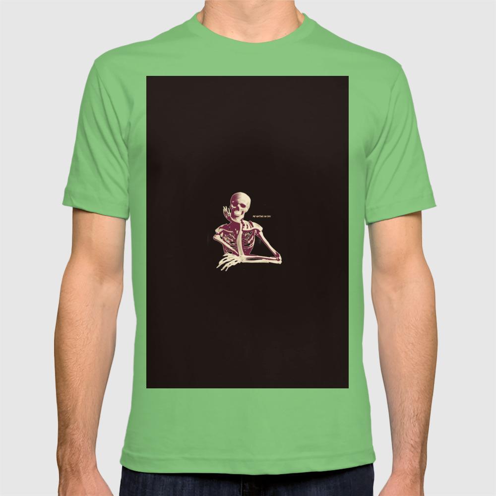 Skeleton Waiting T-shirt