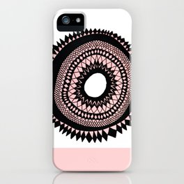 Patterned Sunset iPhone Case