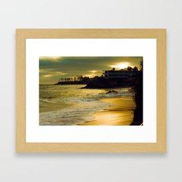 Laguna Sunset California Framed Art Print
