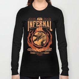 Infernal Nail Amber Ale | FFXIV Long Sleeve T-shirt
