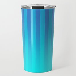 Gradient Stripes Pattern bt Travel Mug