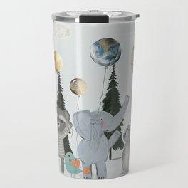 the solar parade Travel Mug
