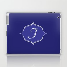 I Monogram Royal Blue Laptop & iPad Skin