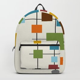Mid-Century Modern Art 1.3 Backpack