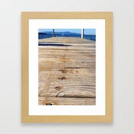 Winnipesaukee   Framed Art Print