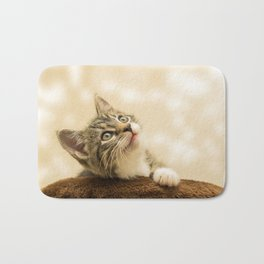 Cute Kitten! Bath Mat