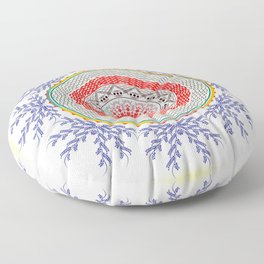 Mandala Floor Pillow