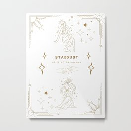 Celestial Astrology Poster Metal Print