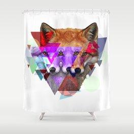 trifox Shower Curtain