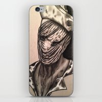 silent hill iPhone & iPod Skins featuring Silent Hill Nurse  by foulestgrunt187