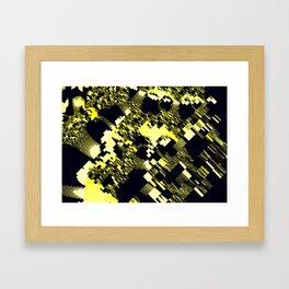 map of fractasia Framed Art Print