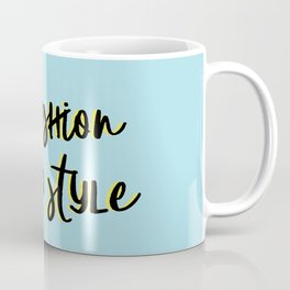 #styleblogger series no. 1 Coffee Mug