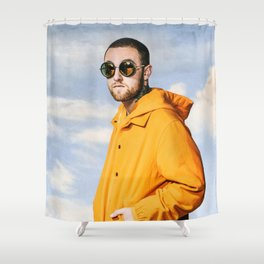 Mac In Memory Shower Curtain