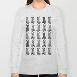 35 Schnauzers Long Sleeve T-shirt